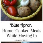 Blue Apron: Home-Cooked Meals While Moving In
