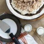 Peanut Butter Pie with Brownie Crust