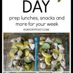 Why You Need a Meal Prep Day