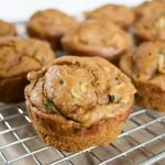 No Sugar Added Pumpkin Zucchini Muffins